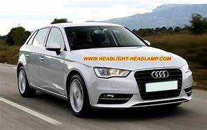 Audi A3 Standard Halogen Light Upgrade To Xenon Headlight Led Tail Lights Adapter Harness Wires