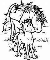 Coloring Horse Pages Printable Preschoolers Kawaii Mommy Horses Dtlk Sheets Crafts Animal Animals Popular Barbie Coloringhome sketch template