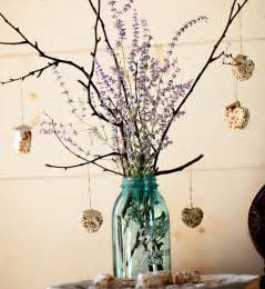 bird seed favors creative diy centerpiece decorations nature style