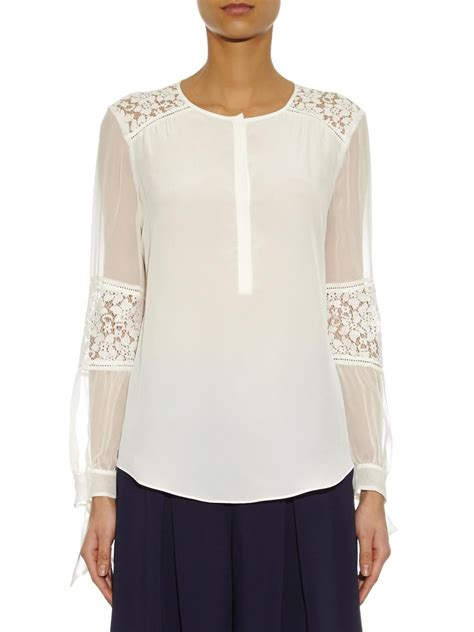 lace blouse dot and lace blouse sleeveless blouse