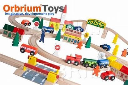 Train Wooden Thomas Railway Brio Toys Orbrium