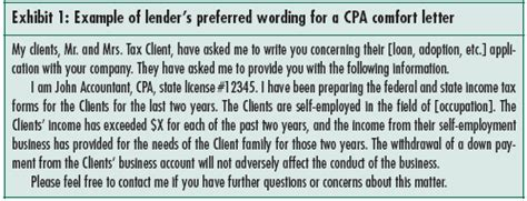 concerns  cpa letters   parties