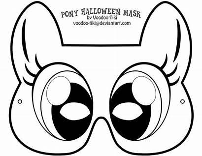 Pony Masks Printable Mask Halloween Voodoo Tiki