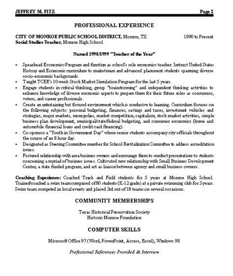 including memberships on resume civic leader political resume exle resume exles and sle resume