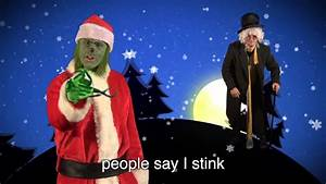 Scrooge vs The Grinch. Epic Rap Battles of Christmas - YouTube