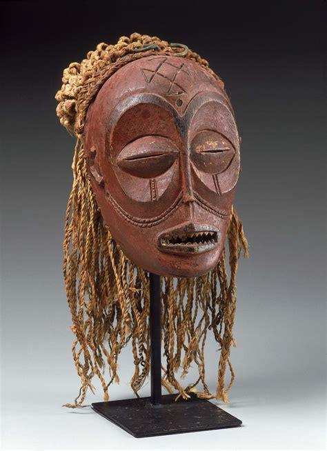 mask mwana pwo museum  fine arts boston