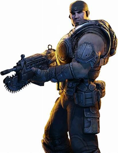 Gears War Clipart Transparent Marcus Fenix Advertisement