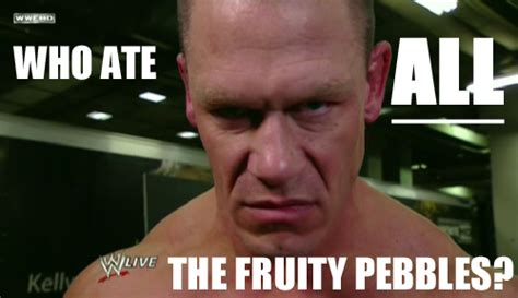 Funny John Cena Memes - don t look at us cena wwe wwe meme world pinterest john cena undertaker and wwe funny