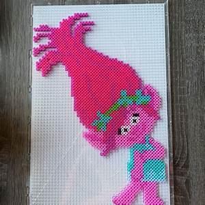 Bügelperlen Kreative Ideen : trolls poppy perler beads b gelperlen b gelperlen ~ Orissabook.com Haus und Dekorationen