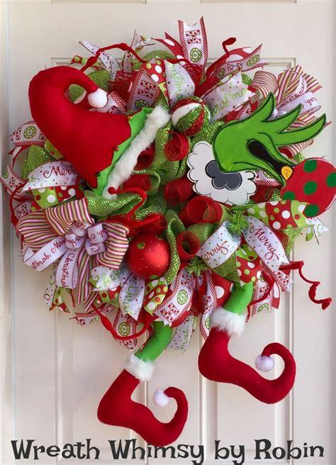 ideas  grinch christmas decorations