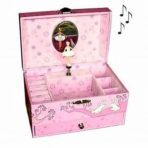 Boite à Bijoux Fille : boite a bijoux en bois pour petite fille visuel 1 ~ Teatrodelosmanantiales.com Idées de Décoration