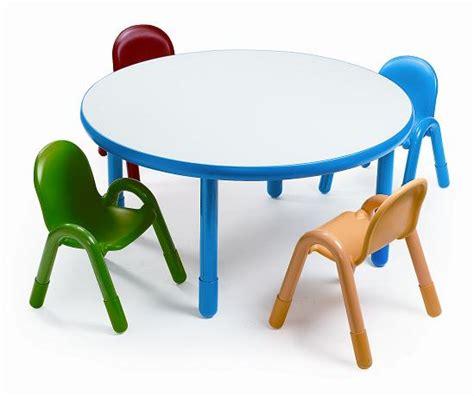 angeles ab74920 baseline preschool table chair set