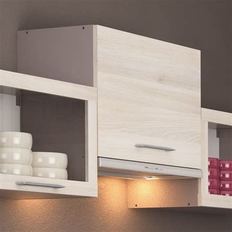 monter une hotte de cuisine chef meuble de cuisine sur hotte 60 cm 1 abattant achat