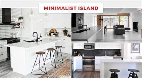minimalist kitchen island 65 best kitchen island ideas for 2018 4143