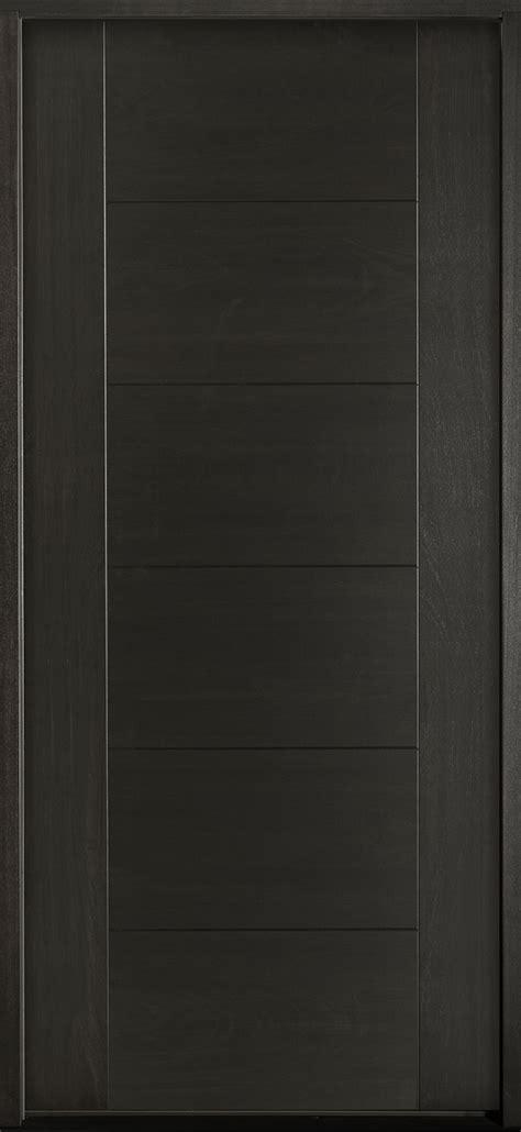 front entry door custom single modern euro