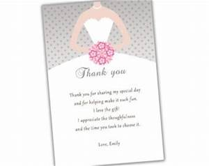 bridal shower thank you quotes quotesgram With wedding shower thank you template