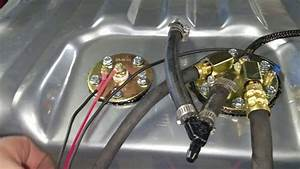 1970 Challenger Fuel  Gas Tank Removal And Replace  Efi Intank Fuel Pump