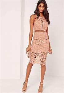 robe mi longue en dentelle des robes pour toute les tailles With robe dentelle mi longue