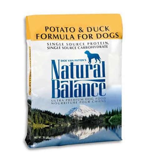 natural balance potato  duck dry dog food