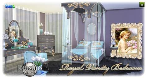 Royal Vanity bedroom at Jomsims Creations » Sims 4 Updates