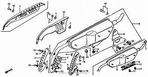 Muffler For 1985 Honda Z50