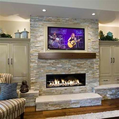 ideas for tv fireplace 20 amazing tv above fireplace design ideas home
