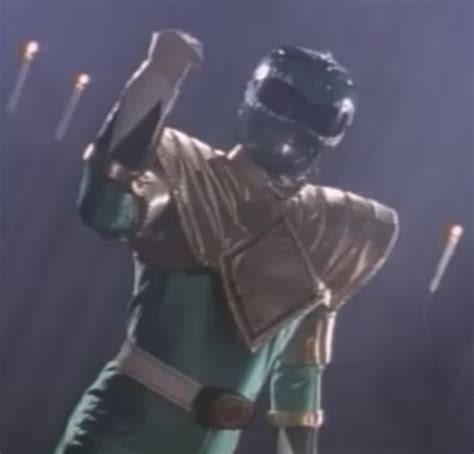 mighty morphin power rangers green with evil