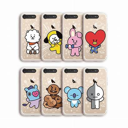 Bt21 Case Phone Iphone Clear Soft Official