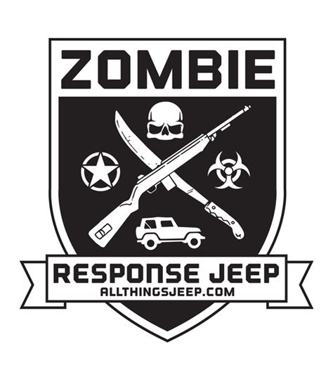jeep sticker ideas all things jeep zombie response jeep decal