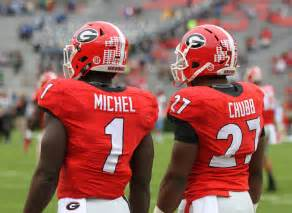 find a classmate sony michel to prepare with or without nick chubb