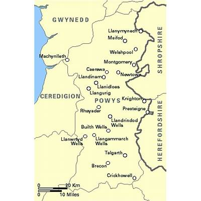 4Hotel's UK Hotel and Guest House Directory - Wales: Powys