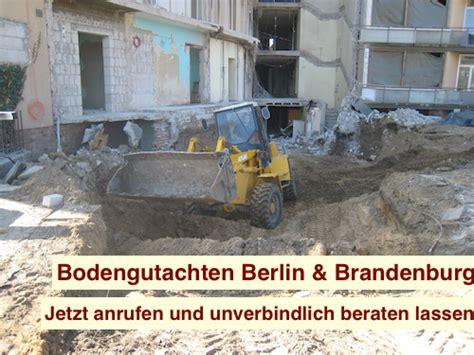bodengutachten vor grundstückskauf bodengutachten vor grundst 252 ckskauf bodengutachten berlin