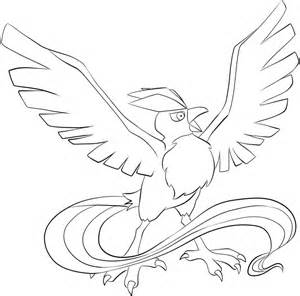 HD wallpapers articuno coloring pages Page 2