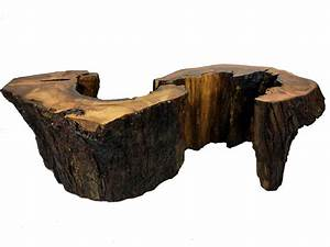 2 piece rustic wood coffee table kyoutbackwoodworkingcom With chunk of wood coffee table