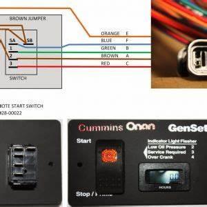 Onan Generator Remote Start Switch Wiring Diagram