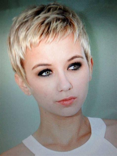pin  short hair beauty