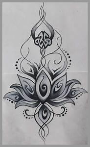 Dessin Fleurs De Lotus : dessin fleur tatouage admirablement dessins tatouage mandala femme fleur de lotus et rose ~ Dode.kayakingforconservation.com Idées de Décoration