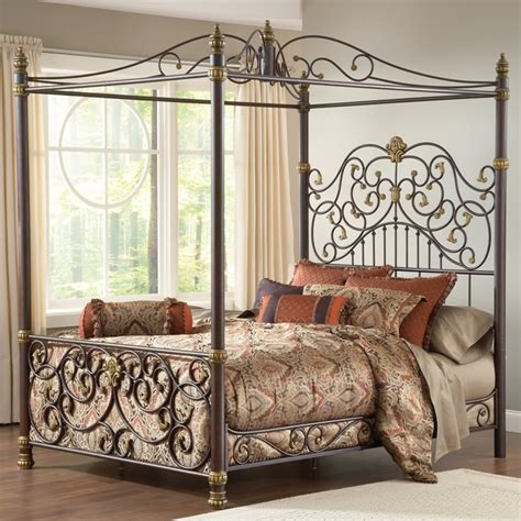 17 best images about wrought iron canopy beds on