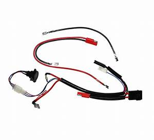 24 Volt Battery Wiring Harness With Charge Inhibitor For Currie Scooters