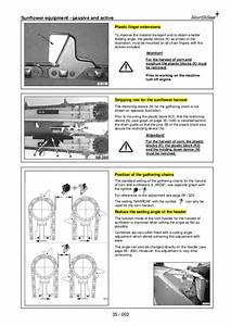 Geringhoff North Star Operating Instructions Manual
