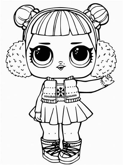 Coloring Lol Pages Doll Dolls Surprise Popular