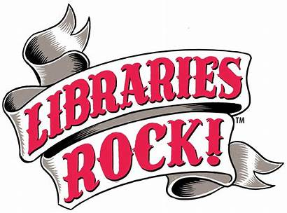 Library Reading Summer Libraries Rock Librarian Clipart