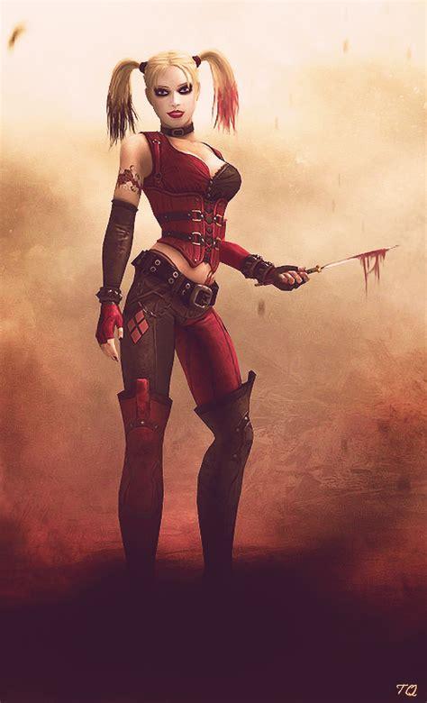 Injustice Arkham Harley Quinn By Toxicquinn On Deviantart