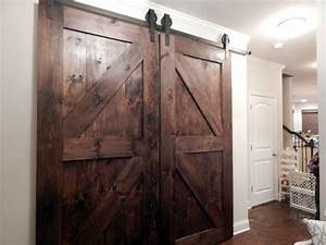 Atlanta Interior Sliding Barn Doors Double Z Style by