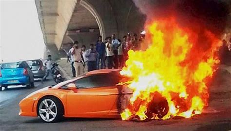Why Do Lamborghinis Catch Fire? We Explain