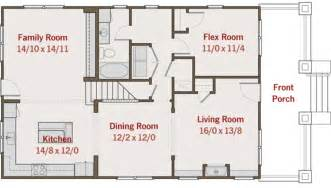 Simple Bedroom Bungalow Plan Placement by Craftsman Style House Plan 4 Beds 3 Baths 2116 Sq Ft