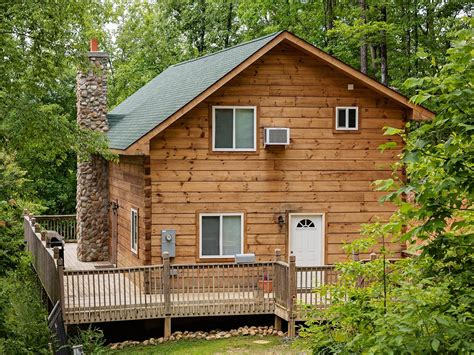 Smoky Mountain Log Cabins by Vacation Home Log Cabin In Smoky Mountains Sevierville