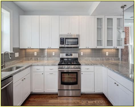 gray glass subway tile kitchen backsplash charming kitchengray subway tile backsplash gray subway 8345