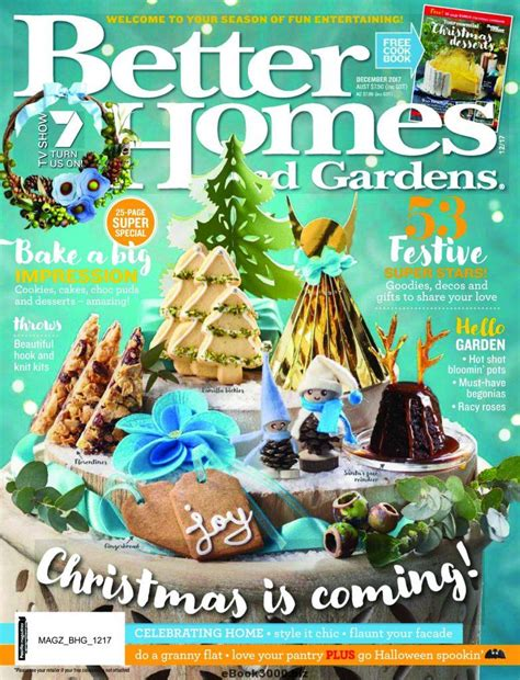 hurry to snag a free better homes gardens magazine