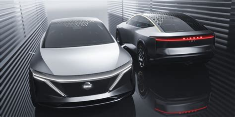nissan ims concept unveiled elevated sports sedan bev